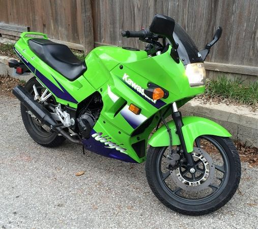 2001 kawasaki ninja 250r for sale in port washington wisconsin classified. Black Bedroom Furniture Sets. Home Design Ideas