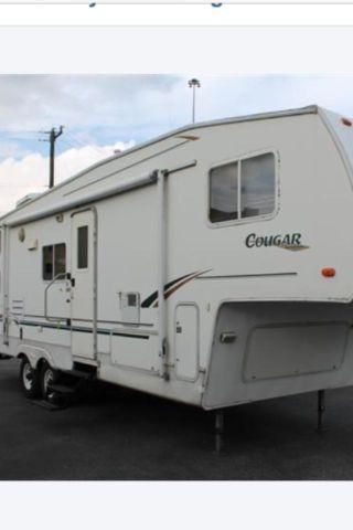 2001 Keystone Cougar 5th Wheel Camper Bunkhouse