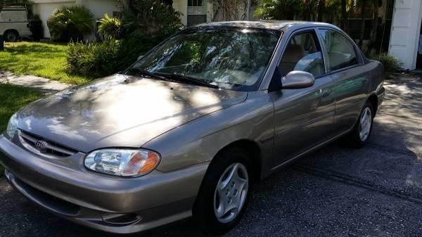 2001 kia sephia ls only 36k original miles for sale in. Black Bedroom Furniture Sets. Home Design Ideas