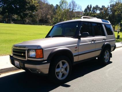 2001 land rover discovery series ii se7 1 owner seats 7 fully loaded warrant for sale in san. Black Bedroom Furniture Sets. Home Design Ideas