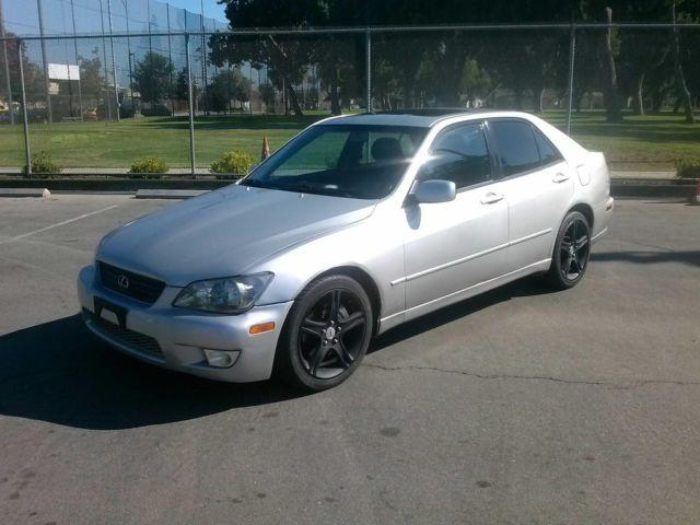 Riverside Auto Salvage >> 2001 Lexus is300 4 dr. automatic, silver with black rims ...