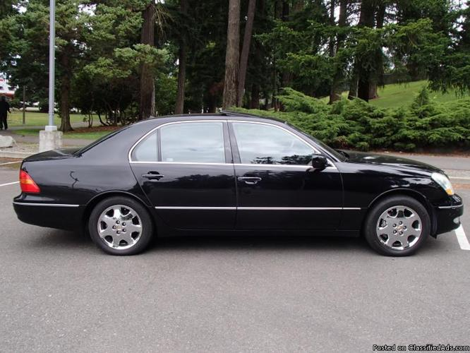 2001 lexus ls 430 auto ultra luxury package 1 owner. Black Bedroom Furniture Sets. Home Design Ideas
