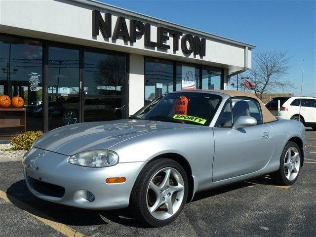 2001 mazda miata mx 5 ls for sale in bourbonnais illinois classified. Black Bedroom Furniture Sets. Home Design Ideas