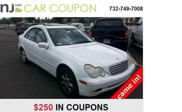 2001 mercedes benz c class in coupons enjoy extra for Promo code for mercedes benz accessories