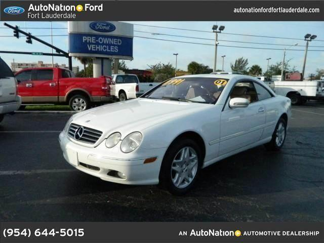 2001 mercedes benz cl class for sale in fort lauderdale for Autonation mercedes benz fort lauderdale