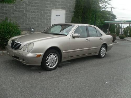 2001 mercedes benz e class sedan e320 for sale in saddle for 2001 mercedes benz e class sedan