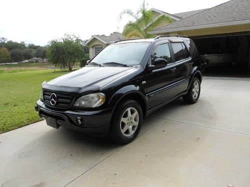 2001 mercedes benz m class ml320 suv black for sale in de for Mercedes benz suv 2001