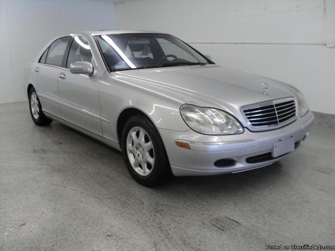2001 mercedes benz s class s430 for sale in downers grove for 2001 mercedes benz s500 for sale