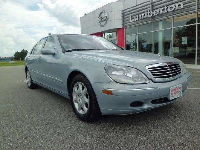 2001 mercedes benz s class s500 for sale in lumberton north carolina classified. Black Bedroom Furniture Sets. Home Design Ideas