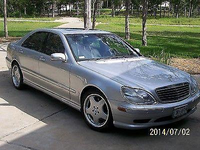 2001 Mercedes Benz S430 AMG SPORT PACKAGE For Sale In Bastrop, Texas