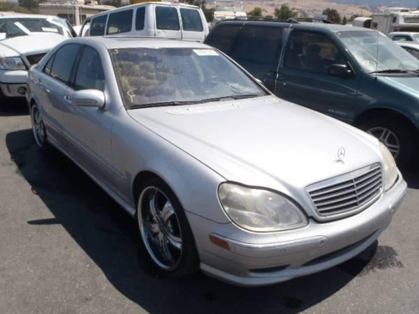 2001 mercedes benz s500 parts for sale for sale in rancho