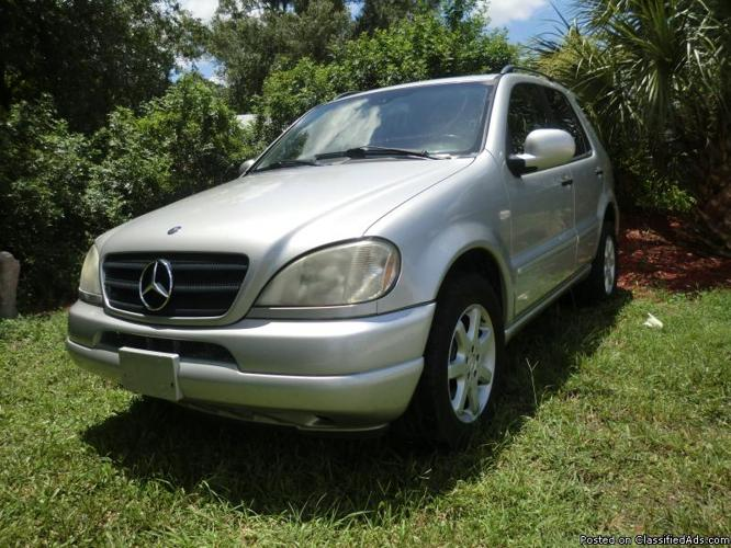 2001 mercedes ml 430 for sale in orlando florida. Black Bedroom Furniture Sets. Home Design Ideas