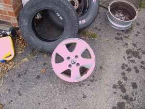 2001 MERCURY COUGAR WHEELS - $60 PETERSBURG
