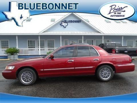 2001 mercury grand marquis 4 door sedan for sale in canyon for Bluebonnet motors used cars