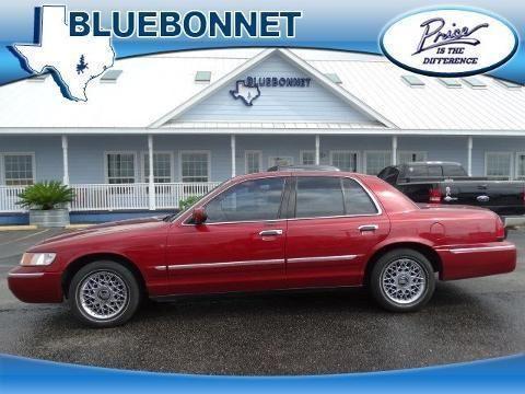 2001 mercury grand marquis 4 door sedan for sale in canyon for Bluebonnet motors new braunfels tx