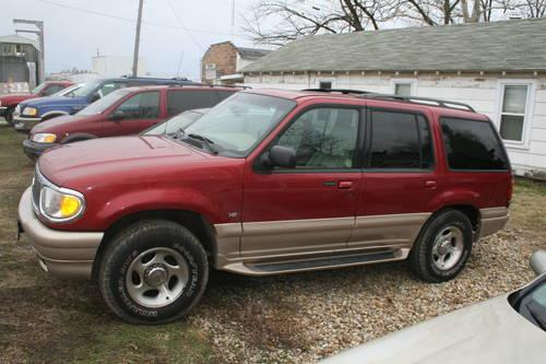 2001 Mercury Mountaineer All Wheel Drive V8 5l For Sale In