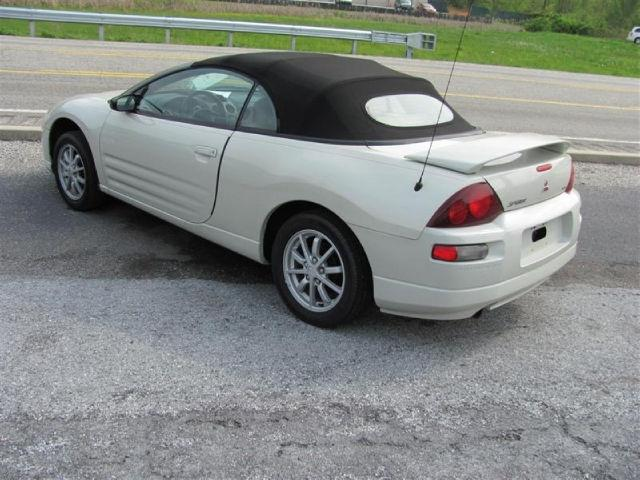 2001 mitsubishi eclipse spyder gs for sale in duncannon pennsylvania classified. Black Bedroom Furniture Sets. Home Design Ideas
