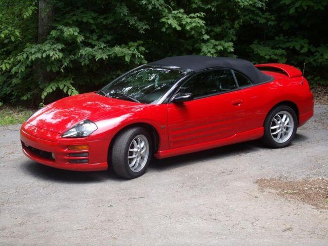 2001 Mitsubishi Eclipse Spyder Gt Convertible For In Ravenscroft Tennessee