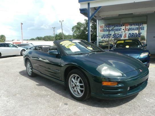 2001 mitsubishi eclipse spyder gt dark green for sale in cocoa florida classified. Black Bedroom Furniture Sets. Home Design Ideas