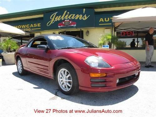 Julians Auto Showcase >> 2001 Mitsubishi Eclipse Two-Door Coupe CONVERTIBLE Spyder GS Sport for Sale in New Port Richey ...