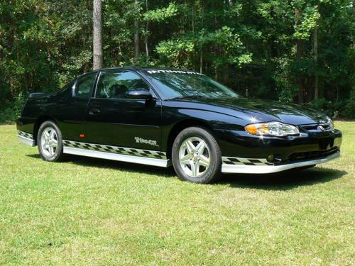 2001 monte carlo ss from dale earnhardt chevy for sale. Black Bedroom Furniture Sets. Home Design Ideas