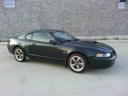 2001 mustang bullitt for sale in madison wisconsin classified. Black Bedroom Furniture Sets. Home Design Ideas