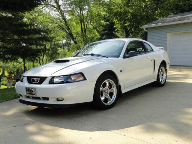 2001 mustang gt white auto 29 000 mi for sale in akron ohio classified. Black Bedroom Furniture Sets. Home Design Ideas