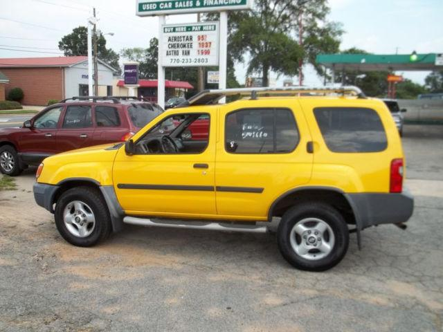 2001 nissan xterra se for sale in griffin georgia classified. Black Bedroom Furniture Sets. Home Design Ideas