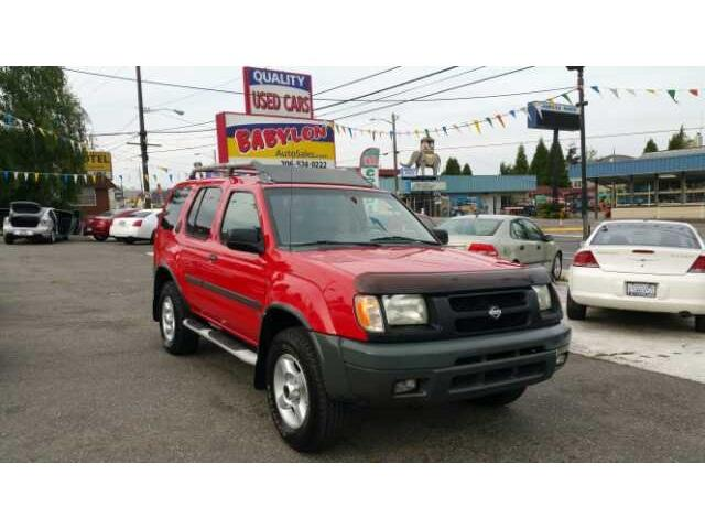 2001 Nissan Xterra Se Seattle Wa For Sale In Seattle
