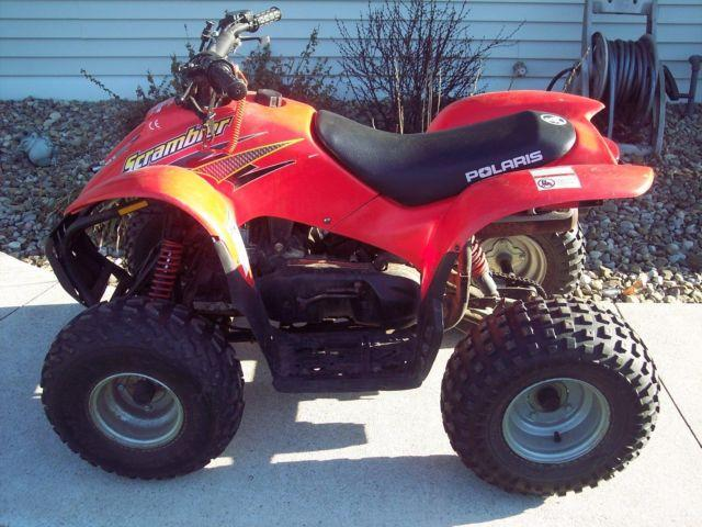 2001 polaris 90 scrambler atv for sale in niles michigan. Black Bedroom Furniture Sets. Home Design Ideas