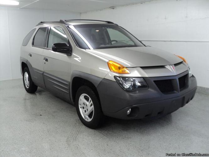 2001 Pontiac Aztek For Sale In Downers Grove  Illinois Classified