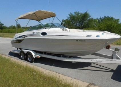 Sea Ray 240 Sundeck >> 2001 Sea Ray 240 Sundeck 24ft Deck Boat for Sale in Iowa ...
