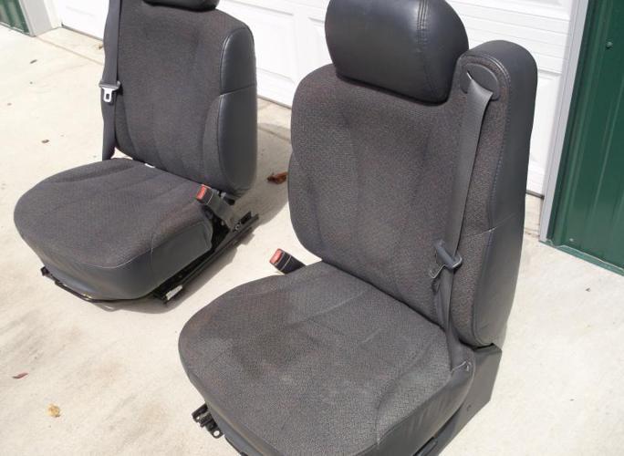 2001 Silverado bucket seats