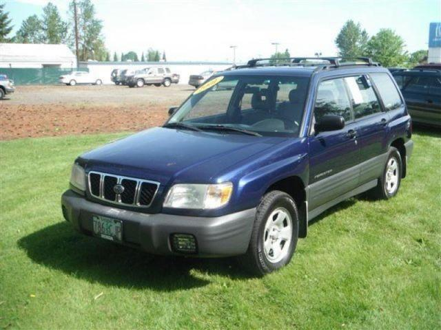 2001 subaru forester l for sale in mcminnville oregon. Black Bedroom Furniture Sets. Home Design Ideas