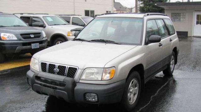 2001 subaru forester l sport utility for sale in portland. Black Bedroom Furniture Sets. Home Design Ideas
