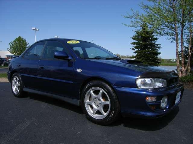 2001 subaru impreza 2 5 rs for sale in marysville ohio. Black Bedroom Furniture Sets. Home Design Ideas