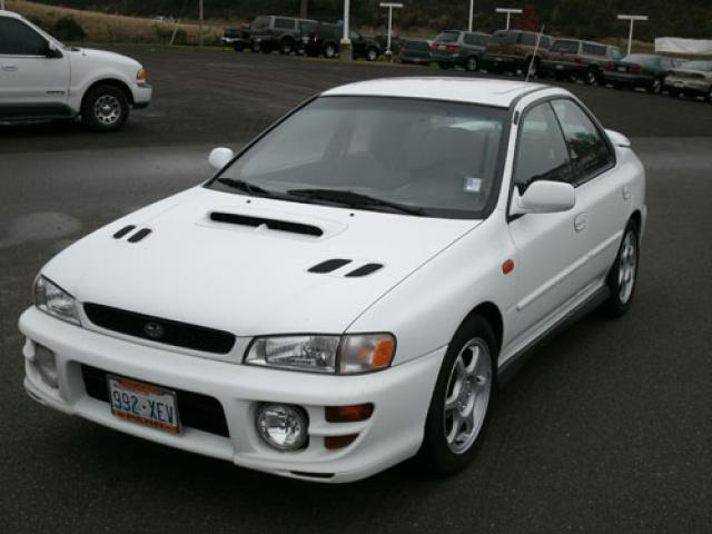 2001 subaru impreza 2 5 rs for sale in bremerton. Black Bedroom Furniture Sets. Home Design Ideas