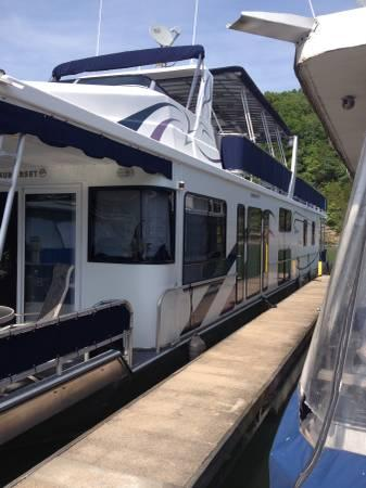 2001 Sumerset Houseboat 4 Bedroom For Sale In Bow