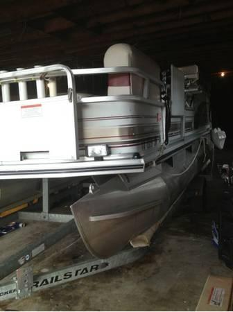 2001 Suntracker 18ft Pontoon Boat For Sale In Houston
