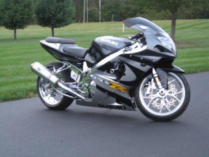 2001 suzuki gsxr 1000 black silver fast custom chrome for Suzuki gsxr 1000 motor for sale