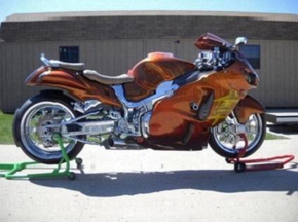 2001 Suzuki Hayabusa Sport Bikes