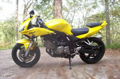 2001 suzuki sv 650s sv650s 3200 miles mint condition for sale in cornelia georgia. Black Bedroom Furniture Sets. Home Design Ideas