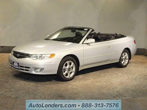 2001 toyota camry solara convertible sle for sale in cecil new jersey classified. Black Bedroom Furniture Sets. Home Design Ideas