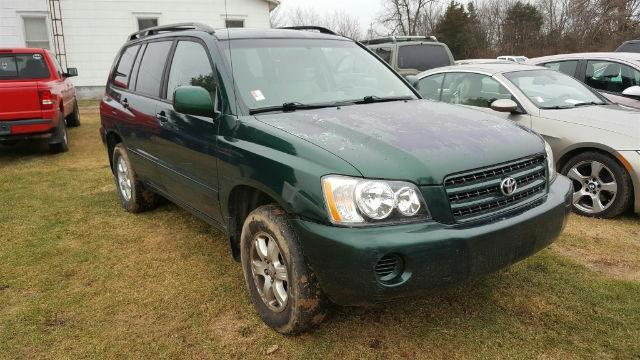 2001 Toyota Highlander Base V6 AWD 4dr SUV