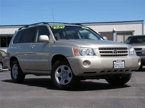 2001 toyota highlander suv suv for sale in bloomfield california classified. Black Bedroom Furniture Sets. Home Design Ideas