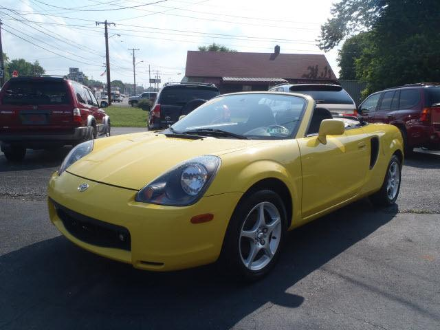 2001 toyota mr2 spyder for sale in erie pennsylvania classified. Black Bedroom Furniture Sets. Home Design Ideas