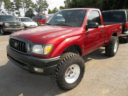 2001 toyota tacoma 4x4 regular cab 870737 for sale in pensacola florida classified. Black Bedroom Furniture Sets. Home Design Ideas