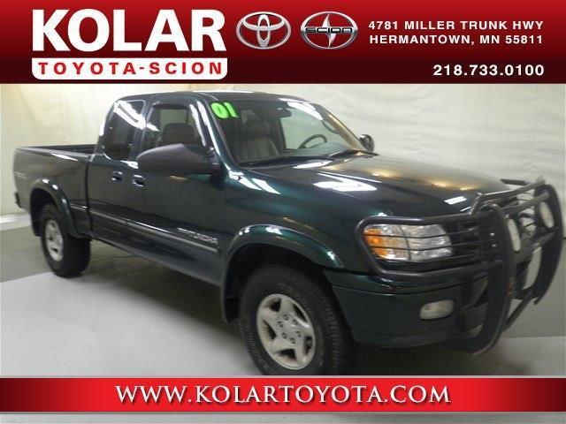 Kolar Toyota Duluth Minnesota >> 2001 Toyota Tundra Limited 4dr Access Cab Limited V8 4WD SB for Sale in Duluth, Minnesota ...