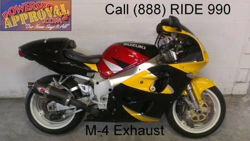 2001 used suzuki gsxr600 crotch rocket for sale u1938 for sale in sandusky michigan classified. Black Bedroom Furniture Sets. Home Design Ideas