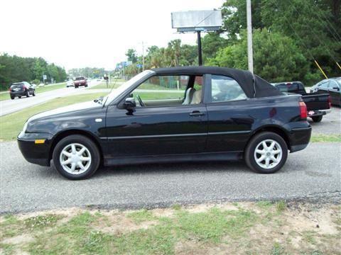 2001 volkswagen cabrio convertible gls convertible 2d for. Black Bedroom Furniture Sets. Home Design Ideas